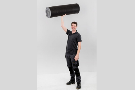 An Innovative multi-functional underlay system on a roll