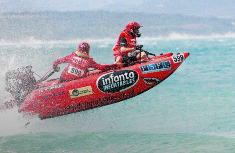 A Tough Material For The Toughest Inflatable Boat Race