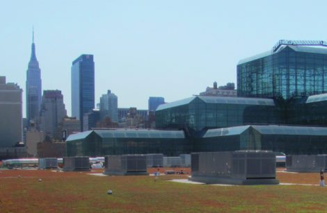 A Green Roof For New York City's Biggest Convention Venue
