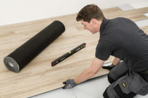 Colcore Sonic Acoustic Underlay Installation Flooring